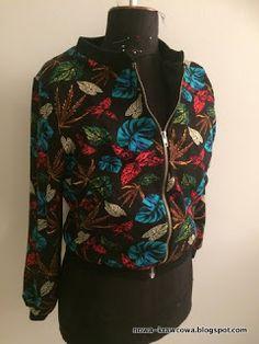 Autumn bomber jacket Custom Made, Sewing Projects, Bomber Jacket, Autumn, Jackets, Women, Fashion, Down Jackets, Moda