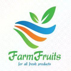 #Farm #Fruits logo