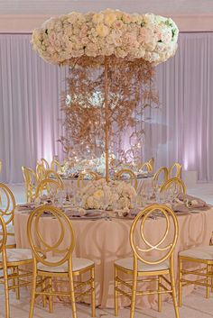 Lush and plush! We are lost for words for this seriously stunning decor! Photo Credit: Kiss Me in Paris