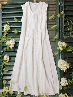 AnnaLise Ladies Nightie White - AprilCornell.com