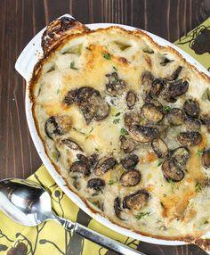 Potato and Portobello Mushroom Gratin | 9Recipes