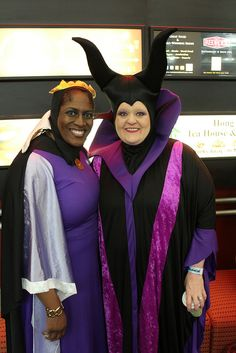 Disney Bad Girls - Grimhilde and Maleficent #Cosplay #SLC #FanX #2014