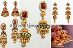 Fashionable Gold Earrings Gallery
