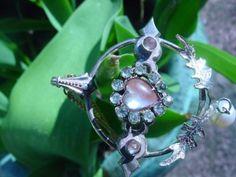 Vintage-SAPHIRET-pendentif-en-forme-de-c-ur-MAIN-Stone