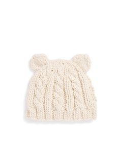 Bear Knitted Hat