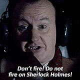"Annoys me when people say Mycroft doesn't' love Sherlock. (Yes, why else would he ""worry constantly"" about him?)"