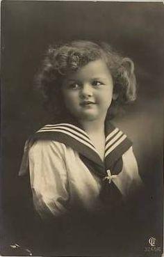 Vintage Postcard ~ Sweet Sailor Girl | Flickr - Photo Sharing!