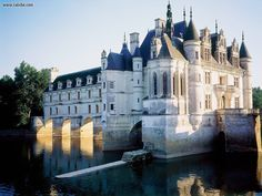 Chateau de Chenoceau, Loire Valley- After tour we enjoyed lunch and wine tasting.