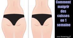 Comment maigrir des cuisses en 1 semaine #lasantemag
