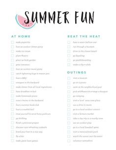 Fun Bucket List - tolle Ideen, mit denen Sie all den Spa des Sommers ausnutzen knnen .Summer Fun Bucket List - tolle Ideen, mit denen Sie all den Spa des Sommers ausnutzen knnen . Summer Bucket List 2016, Summer Fun List, Summer Time, Summer Things, Summer Dates, Summer Goals, Teen Summer, Summer Art, Fun Things