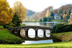 the temple of apollo stourhead gardens wiltshire england - Google Search