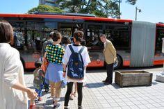 2015年6月7日、新潟市が新たに導入するバス高速輸送システム(BRT)の試乗会にお邪魔しました。記事はこちら→ http://www.asahi.com/articles/ASH674Q1GH67UOHB00N.html