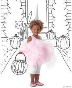 What's sweeter than a cotton candy costume?