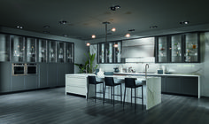 Kitchen Design Ideas - Trends from Salone del Mobile 2016 - Architectural Digest Long Kitchen, Cute Kitchen, Ikea Kitchen, Kitchen Ideas, Awesome Kitchen, Kitchen Storage, Kitchen Cabinets, Free Kitchen Design, Best Kitchen Designs