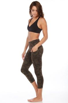 c4369f8941e5 A super comfortable capri now designed with pockets! This wide soft  waistband keeps you covered