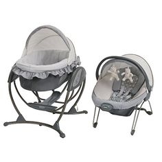 """I cannot wait to register for this!! It's a 4 in 1 and the perfect size!!!  Graco Soothing Systems Glider - Finland - Graco - Babies""""R""""Us"""
