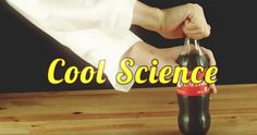 He Pours Nerds Into A Balloon And Attaches It To A Bottle. What It Does? This Is SO Cool!