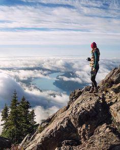 Reach new heights. #hiking #adventure