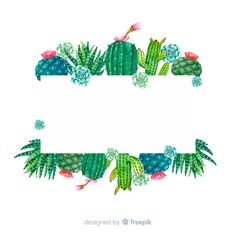 Discover thousands of copyright-free vectors. Graphic resources for personal and commercial use. Thousands of new files uploaded daily. Cactus Drawing, Watercolor Cactus, Cactus Art, Garden Cactus, Types Of Cactus Plants, Cactus Backgrounds, Cactus Vector, Plant Background, Creation Photo