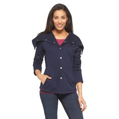 Women's Cowl Neck Jacket - Cherokee