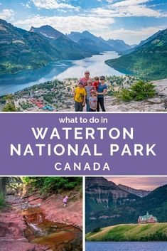 Why Waterton Lakes National Park is One of the Best Places to Visit in Canada. If you're planning a visit to Canada, be sure to add Waterton Lakes National Park to your itinerary. It is truly a beautiful place. Cool Places To Visit, Places To Travel, Travel Destinations, Travel Tips, Travel Advise, Rv Travel, Travel Articles, Travel Packing, Budget Travel