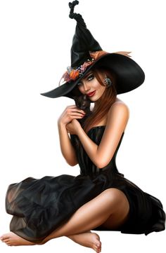 Sorcière png : tube Halloween - Hexe - Witch png - Bruja