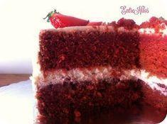 Tarta red velvet sin colorante (con remolacha)