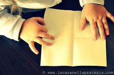 Montessori Activities: Folding Paper (and Wrapping Gifts)