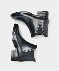 Bottine de pluie talon Botas Dernières tendances Automne Hiver 2016 en mode femme chez