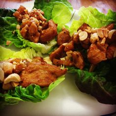Food Day Friday - Chicken Lettuce Wraps