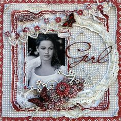 Just an adorable #scrapbook #page Love it!  Country Girl - Scrapbook.com  Let's scrap this at the Oklahoma retreat!  http://scrapnparadise.webs.com