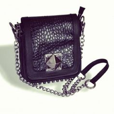 #handbag #leather #rocker #fashion