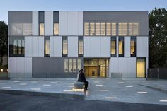 CONSERVATORY OF MUSIC, DANCE AND THEATER by babin+renaud architects
