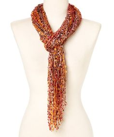 Another great find on #zulily! Earthtone Fringe Scarf by The Magic Scarf Company #zulilyfinds