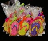 Flip Flop Sugar Cookies for Bloomingdale's White Plains, NY