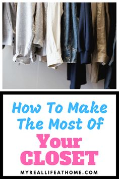 Closet Organization Ideas - Check out my list of different closet systems - both for big or small closets or no closet at all! #closetorganization #organizingtips #organize #organizing #diystorage #storage #bedroomstorage #clothesstorage #bedroom #closet #clothes