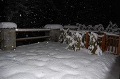 Sequence of photos of April snowfall at Cere. Credits: Paolo B. Here 10 cm of very wet snow. (Ceresole Reale, NW Alps, Italy)