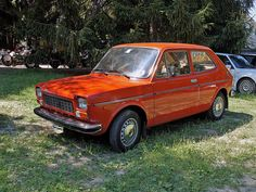 Fiat 127 my first car when i was a child :))))