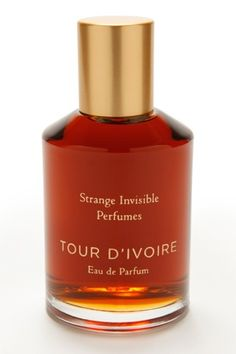 Don't Smell Like Everyone Else — 10 Ultra-Unique Perfume Picks #refinery29  http://www.refinery29.com/28709#slide-4  Strange Invisible Perfumes Tour D'Ivoire As best said by our fave perfume blogger, Now Smell This, Strange Invisible Perfumes is for perfume-lovers. True scentophiles are the ones that can really appreciate all of the subtle essences and layers found in each of t...