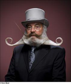 Barbas e bigodes por Dave Mead : Fottus – Fotos engraçadas e fotos legais