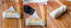 Vårrullar - ZEINAS KITCHEN Quiche Lorraine, Lchf, Keto, Nutella Cookie, Zucchini, Easy, Good Food, Tips, Recipes