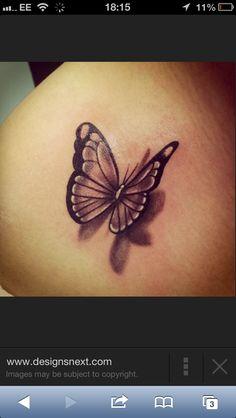 4170e71f8c881 Tats Butterfly Tattoos, Tatting, Artworks, Tattoo Ideas, Tattoo Designs,  Butterflies,