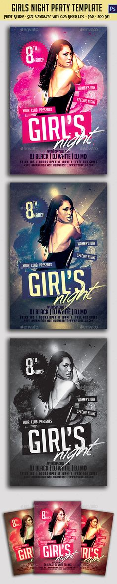 Back to School Party Flyer Template V2 by Christos Andronicou, via - advertising flyers templates free