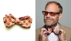 Alton Brown Bow Ties By hook + ALBERT