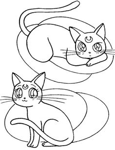 111 best pm images coloring pages coloring pages for kids Cat France pet sailor moon coloring pages for kids sailor moon coloring pages cool coloring pages