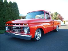 1966 FORD F-100 CUSTOM PICKUP - Barrett-Jackson Auction Company - World's Greatest Collector Car Auctions