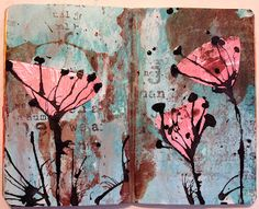 By Sarah Anderson [The Art of Moodling] Love the colours / inkiness.