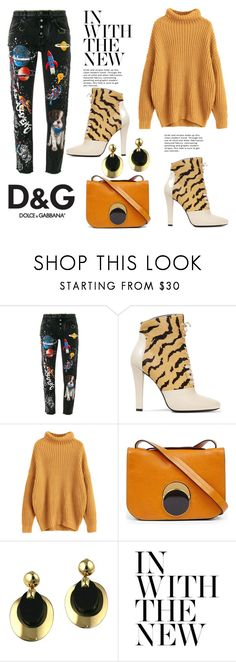 """""""D & G Jeans"""" by hastypudding ❤ liked on Polyvore featuring Dolce&Gabbana, 3.1 Phillip Lim, Marni, Christian Dior, Lipsy, contest, denim, polyvorecommunity, fashionset and AmiciMei"""