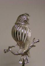 Salt Spoon ( Bird ) Sterling Silver