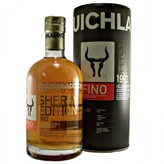 Bruichladdich Fino Sherry Edition 1992 Single Malt Whisky available to buy online at specialist whisky shop whiskys.co.uk Stamford Bridge York